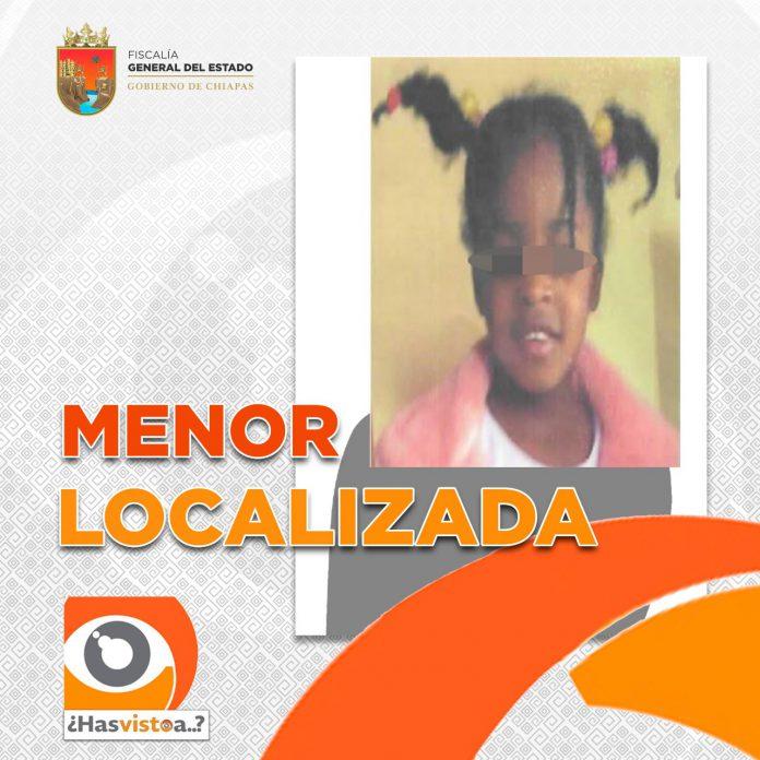 El denunciante agradeció a la Fiscalía General del Estado a través de la Fiscalía de Inmigrantes, su colaboración para la localización de su menor hija de nacionalidad chilena.